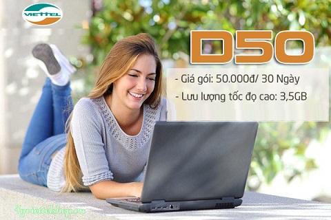 goi D50 viettel